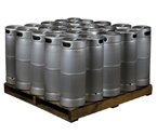 Pallet of 25 Kegco HS-K5G-DDI Kegs -  5 Gallon Commercial Keg with  Drop-In D System Sankey Valve
