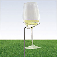 Outdoor Wine Glass Stand - 2 Pack