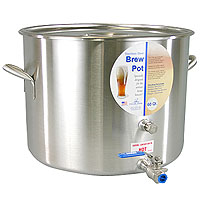 60 Qt. Stainless Steel Brew Pot