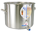 Polar Ware 60 Qt. Stainless Steel Brew Pot