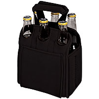 Insulated Six Pack - Black
