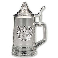 Dad Glass Beer Stein