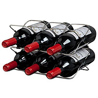 Rabbit 6 Bottle Space Saving Wine Rack
