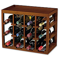 Cube Stack Wine Rack for 12 Bottles