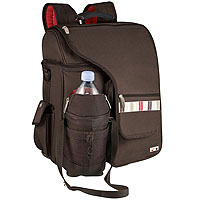 Turismo Insulated Cooler Tote/Backpack - Black