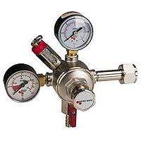 Premium Grade Double Gauge Co2 Draft Beer Regulator