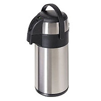 Pumpmaster Stainless Steel 3-Liter Thermal Coffee Carafe