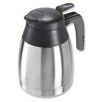 Solo 0.6-Liter Stainless Steel Carafe w/Soft Touch Handle