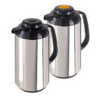 Connoissuer Stainless Steel 1-Liter Coffee Carafe Set