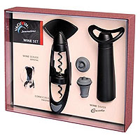 Concerto Wine Gift Set (Concerto, Twister, Crystal Pourer)