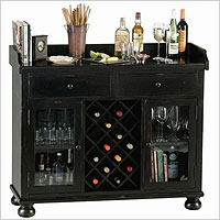 Howard Miller 695-002 Cabernet Hills Wine Console