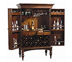 Howard Miller 695-014 Cherry Hill Hide-A-Bar Wine & Spirits Cabinet