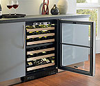 Marvel 6BARM Two-Zone Beverage & Wine Refrigerator