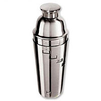 Dial A Drink Stainless Steel 1-Liter Cocktail Shaker