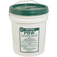 Five Star PBW Powdered Brewery Wash - 50 lbs