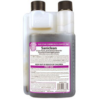 SaniClean Low-Foaming Acid-Based Sanitizer - 16 oz