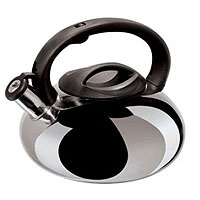 Stainless Steel Whistling Kettle - Silver Finish