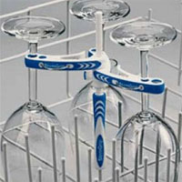 StemGrip Dishwasher Wine Glass Stemware Rack Holder