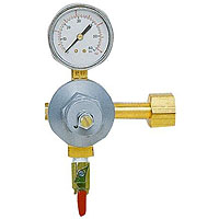 Commercial Grade Single Gauge Co2 Draft Beer Kegerator Regulator