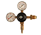 742HPN-100 - High Flow Double Gauge Nitrogen Regulator with Duck-Bill Check Valve