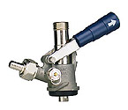 7486E - S System Keg Tap - Blue Lever Handle