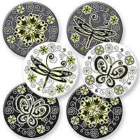 Urban Garden Coaster Set - Fiberboard