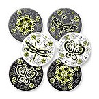 Urban Garden Coaster Set - Fiberboard