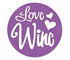 Lavender Love Wine - Felt Coasters