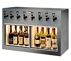 WineKeeper Monterey 8 Bottle Wine Dispenser Preservation Unit - Special Laminate - 7775