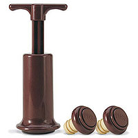 Wine Savor® Preservation System w/ 2 Stoppers
