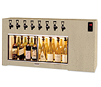 WineKeeper The Magnum 8 Bottle Wine Dispenser Preservation Unit - Laminate - 8001