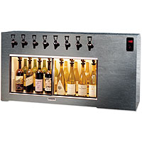Magnum 8 Bottle Wine Dispenser Preservation Unit - Special Laminate