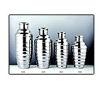 Convex 8123 24 oz. Stainless Steel Cocktail Shaker Set