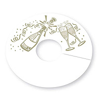 Celebration My Glass® Wine Glass Tags