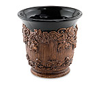 Ceramic Grapevine Wine/Champagne Ice Bucket