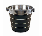 Silver & Black Ice Bucket - Bulk