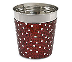 Alluring Red Mosaic Champagne / Ice Bucket