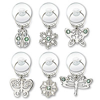 Urban Garden Suction Cup My Glass® Wine Charms