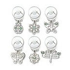 Urban Garden Suction Cup My Glass� Wine Charms