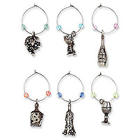 A Glass A Day My Glass® Wine Charms