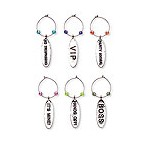 VIP Lounge My Glass� Wine Charms