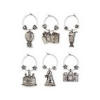 Birthday Bash My Glass� Wine Charms