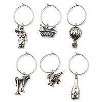 Vintage My Glass® Wine Charms