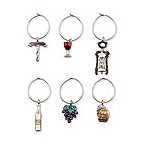 Wine Icons My Glass� Wine Charms