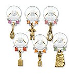 Cooking Party Suction Cup My Glass� Wine Charms