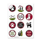 Pet Party Wine Glass Stick'ems� Wine Tags