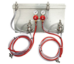 83215-PM1 - 2 Product Secondary Co2 Regulator Panel Kit w/Pro-Max