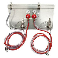 2 Product Secondary Co2 Regulator Panel Kit w/Pro-Max