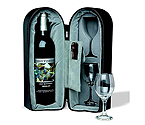 Wine Travel Case with Corkscrew and Zocco Stopper
