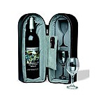 Wine Travel Case with Capitano Corkscrew and Foil Cutter